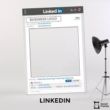 photo booth picture frames linkedin photo booth frame social frames