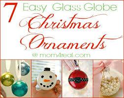 7 easy glass globe ornament ideas 4 real
