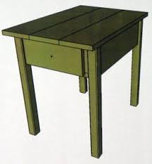 the woodworking plan pdf for these free end table plans is done