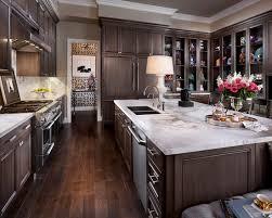 dark cabinet kitchen fantastic kitchen backsplash for dark