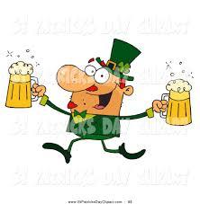 leprechaun beer clipart 25