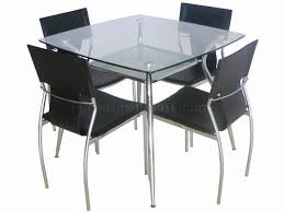 Rectangular Glass Top Dining Room Tables Furniture Best Small Rectangle Glass Dining Table Home Design