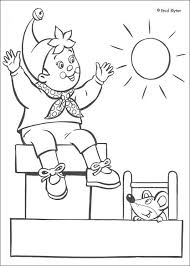 noddy roof coloring pages hellokids