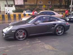 new porsche 911 turbo pics the new porsche 911 turbo 997 in mumbai page 10 team bhp