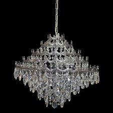 Costco Ceiling Lights Swarovski Crystal Tomb Almond Pendant Chandelier In Chrome