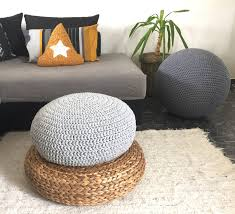 crochet floor cushions nursery decor kids floor cushion living