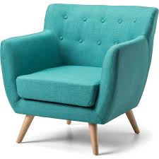 scandinavian armchair scandinavian retro fabric lounge armchair in teal buy armchairs