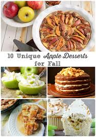 unique thanksgiving desserts frugal foodie mama 10 unique apple desserts for fall