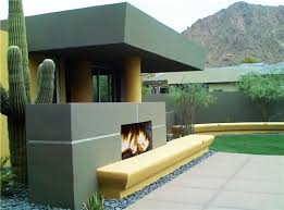 Modern Outdoor Gas Fireplace by Contemporary Outdoor Isokern Fireplace By Bianchi Design In