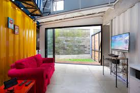 Urban Living Room by Gallery Of Container For Urban Living Atelier Riri 19