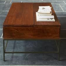 Secretary Desk With Storage by Buy West Elm Industrial Storage Coffee Table John Lewis