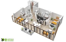 using smart effects of 3d luxury floor plan design usa 3d