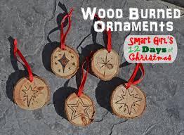 diy ornaments easy pyrography wood burning