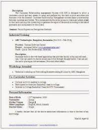 Cse Resume Format Over 10000 Cv And Resume Samples With Free Download Cse Resume Sample