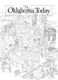 oklahoma today mj17 cover coloring page