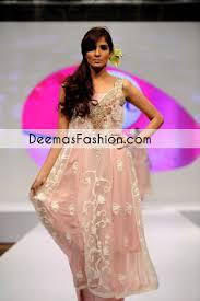 Light Pink Casual Wear Party Wear Aline Dress Latest Designer