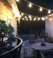 commercial outdoor string lights outdoor light outdoor patio