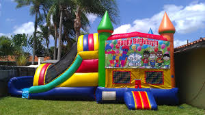 party rentals in bounce houses cinnamonstixx party rentals miami bounce house