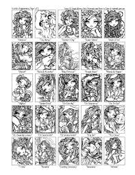 sweet u0026 simple whimsy girls mermaids u0026 more to color autographed
