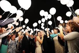 send balloons 25 creative wedding exit send ideas balloons