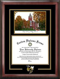 tech diploma frame institute of technology yellow jackets diploma frames