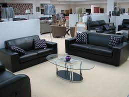 Black Leather Sofa And Chair Inspirational Black Leather Furniture Set 39 For Your Living Room