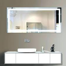 Bathroom Wall Mounted Mirrors Extendable Illuminated Magnifying Mirror Vanity Medium Size Of