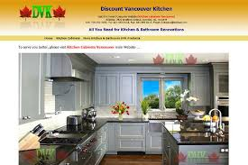 Discount Vancouver Kitchen Cabinets Holy Seo Sample Designed Websites Show