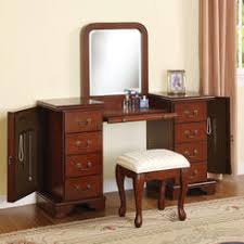 vanity and mirror set house decorations