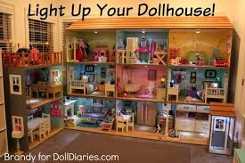 Big Barbie Dollhouse Tour Youtube by Light Up Your Dollhouse How To Add Lighting To A Doll House For