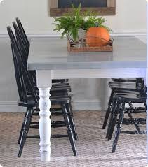 Build Dining Room Table by Best 25 Zinc Table Ideas Only On Pinterest Concrete Table Top