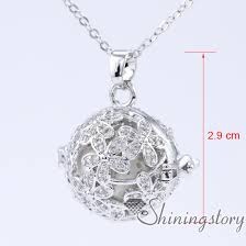 necklace to put ashes in cz cubic zircon aromatherapy inhaler locket charm necklace lockets