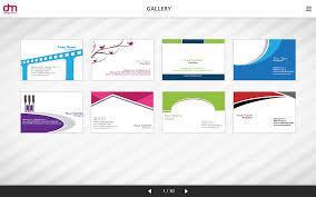 free printable business card maker card design ideas