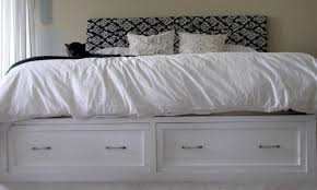 Ana White King Storage Bed by Ana White Drawers For The Queen Sized Storage Bed Diy Projects