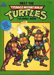 114 7735 teenage mutant ninja turtles coloring book activity