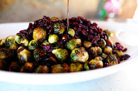 brussels sprouts with balsamic and cranberries the pioneer