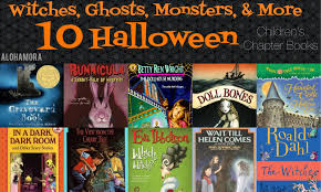 Scary Monsters For Halloween Alohamora Open A Book 10 Great Halloween Chapter Books For