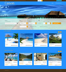 travel web images Travel website design canon png