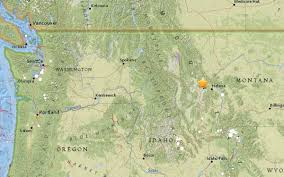Map Of Idaho And Montana by 5 8 Magnitude Earthquake In Montana Rattles Eastern Wash Komo