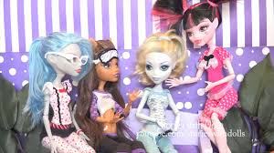 family fun monster high kids toys u0026 dolls mh pajama party