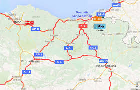 Spain Train Map by How To Get Here San Sebastian Tourism