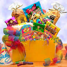 birthday gift basket big happy birthday gift box