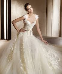 mcqueen wedding dresses aire barcelona wedding dress featuring lace cap sleeves