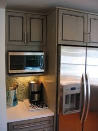 Kitchen Cabinets With Microwave Shelf Cool Kitchen Cabinet With Microwave Shelf And Kitchen Microwave