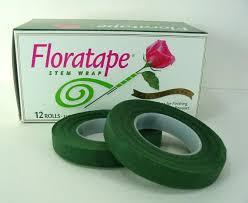 Floral Tape Floral Tape Florist Stem Wrap Dark Green 1 2 U201d 30 Yards