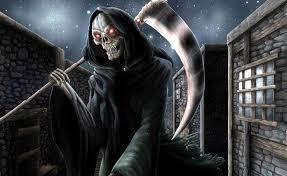 badass halloween background cool grim reaper wallpapers wallpapersafari