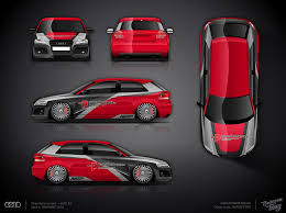 car wrapping design software audi s3 part wrap design design atelier ttstudio