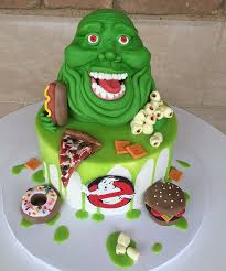 ghostbusters slimer cupcakes cakes and goodies pinterest