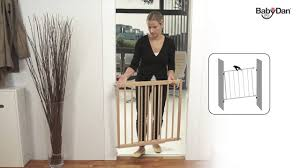 Baby Stairgate Multidan Wood Safety Gate From Baby Dan Youtube