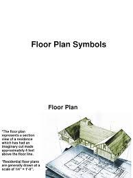 floor plan symbols floor plan door window